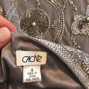 Cache Dresses - CACHE Embroidered Dress